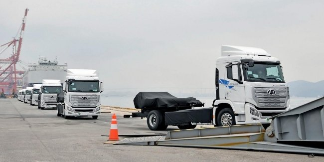 Hyundai plans to load Europe with its hydrogen trucks