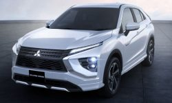 Mitsubishi unveils revamped Eclipse Cross crossover