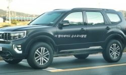 Korean competitor Toyota Land Cruiser went for tests