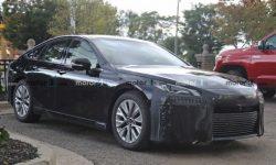 The new Toyota Mirai is already without camouflage