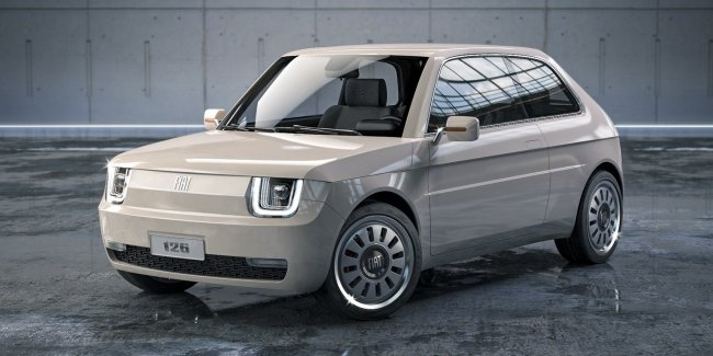 Fiat 126 will rejoice in the form of an electric car?