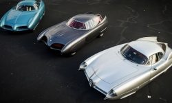 Three vintage concept car Alfa Romeo will go under the hammer