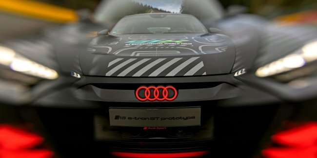 Audi RS E-Tron GT: the finishing touches