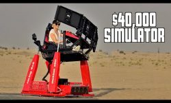 Most Extreme 4D Racing Simulator Tested!