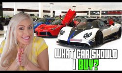 I'm shopping for a supercar in Dubai!