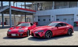 Toyota Supra – Old vs. New