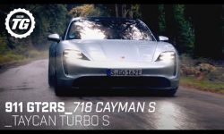 Best of Porsche: 911 GT2RS, Taycan Turbo S, 718 Cayman S