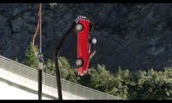 SPOILER: BUNGEE JUMPING in a CAR off a DAM