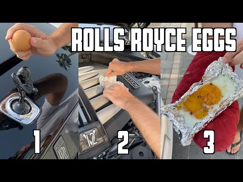 How To Cook The Perfect Egg – Rolls Royce Style!