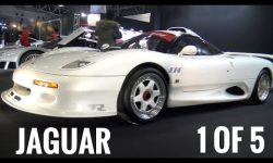 Super Rare Jaguar XJR-15 LM 1 Of 5!