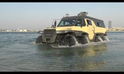 8×8 Floating Monster Truck Spotted in Dubai