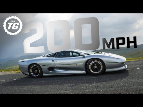 PREVIEW: Attempting 200mph in the Jaguar XJ220: Series 29