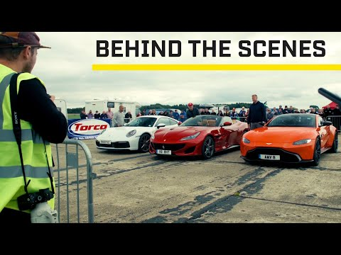 MAKING OF: Sports cars at Top Speed Tuesday: Series 28
