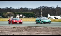Chris Harris vs the Ferrari 488 Pista & McLaren 600LT