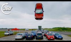 360º DISASTROUS Car Park Race!: Jumps