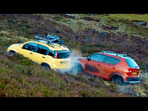 Suzuki Ignis vs Fiat Panda: Mountain Race: Series 26