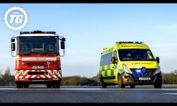 TRACK BATTLE: Fire Engine vs Ambulance vs Police Van: Series 28
