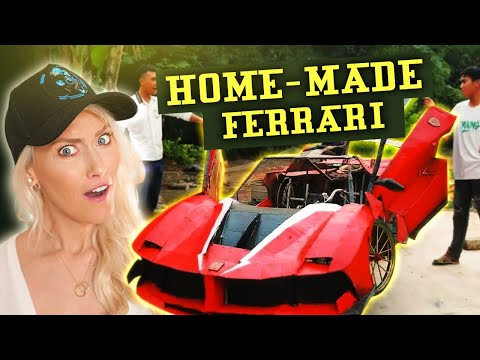 Reacting to $200 Home-Made Ferrari!