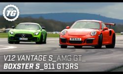 Chris Harris Drives… Sportscars: V12 Vantage S, AMG GT R, Porsche 911 GT3RS