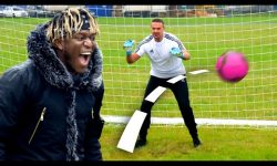 KSI vs Top Gear: AIRBAG FOOTBALL CHALLENGE