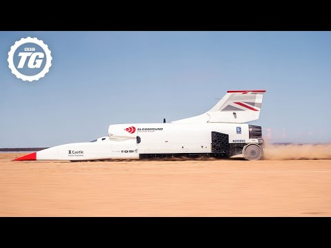 How to drive at 628mph