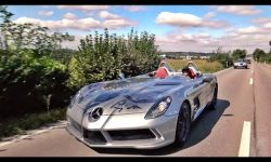 Mercedes-Benz SLR McLaren Stirling Moss!