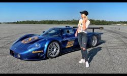 World's Only Street Converted Maserati MC12 Corsa!