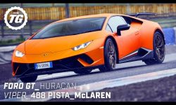 Chris Harris Drives… Best of Supercars: Ford GT, Lamborghini Huracan, 488 Pista