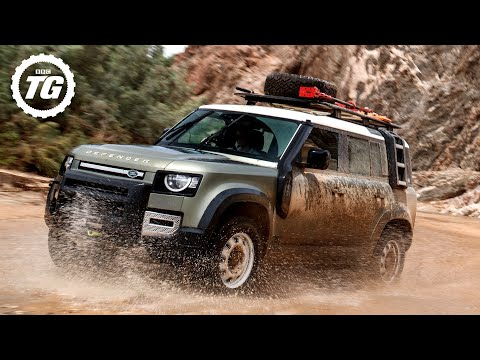 TRAILER: Top Gear drives the NEW LAND ROVER DEFENDER in Africa!