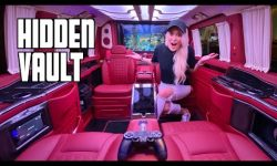 Ultra Luxurious Custom Mercedes Van!