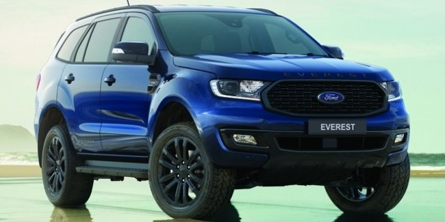 On the road to Everest: Ford unveils special version of SUV