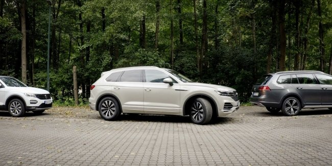 Volkswagen Touareg has become independent