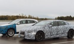 How are Mercedes electric cars tested?