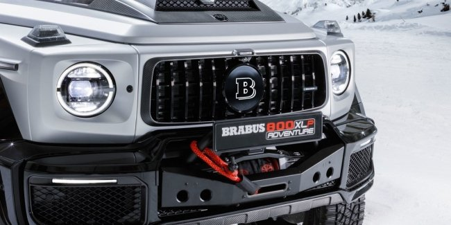 Brabus turns the new G63 into a pickup truck