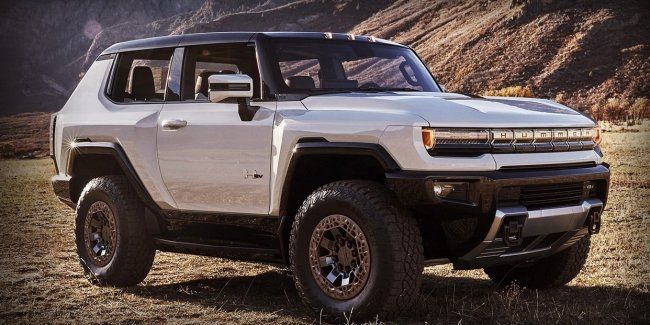 GM first showed electric SUV Hummer
