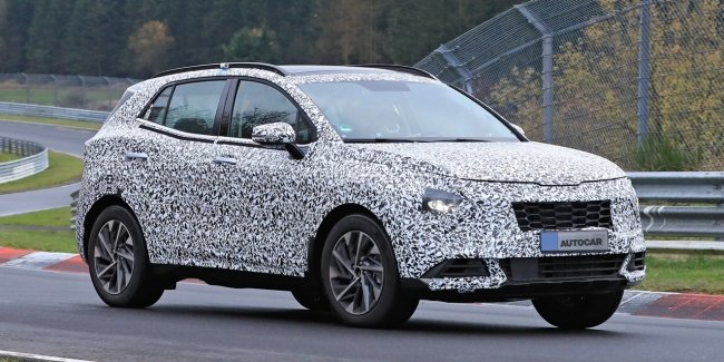 KIA brings new Sportage to Nurburgring