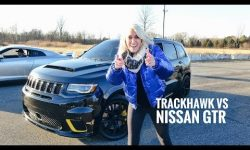 World's Most Powerful SUV Drag Race  | Trackhawk Jeep