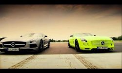 Petrol vs Electric | Mercedes SLS AMG Battle | Series 20 | BBC
