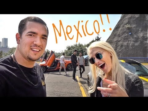 Bodyguards & Supercars with Juca in Mexico