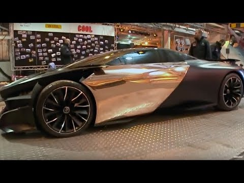 Peugeot ONYX | Behind the scenes