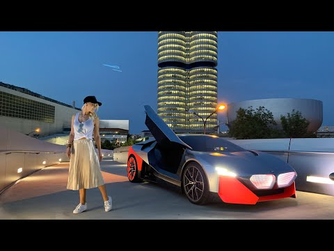 World's First Drive – New BMW Vision M Next!