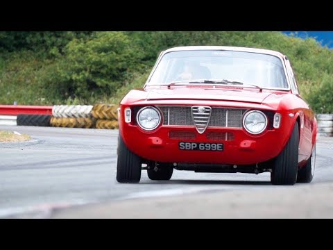 Chris Harris Drives The Alfaholics GTA-R 290