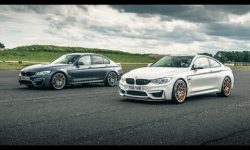 BMW M3 Comp Pack vs BMW M4 GTS | Drag Races