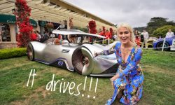 Driving The Most Insane Concept Car | Mercedes-Benz EQ Silver Arrow