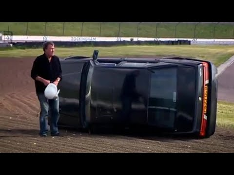 Clarkson CRASHES out of the Race (HQ)