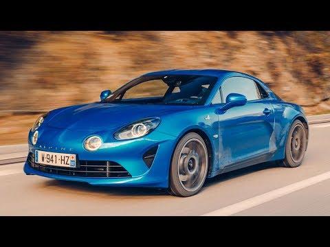 Alpine A110 vs Monte Carlo rally stage