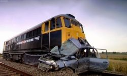 Car hit by train | Safety Message (HQ) | Series 9 | BBC