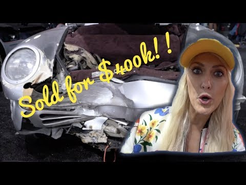 They Paid $400k for a WRECKED Porsche!!