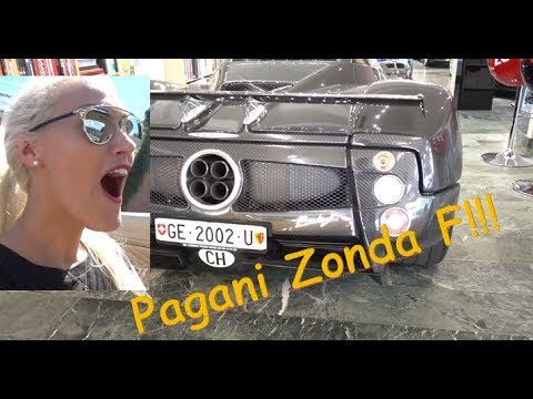 I drive a Pagani for the first time!!!