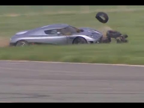 Stig Crashes Koenigsegg CCX (HQ) | Series 8 | BBC